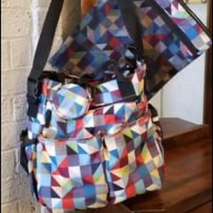 Skip Hop Prism Diaper Bag with accessories